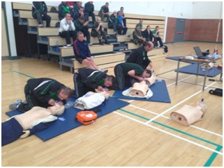 Members from The Irish Defence Forces undertaking and extensive training programme with EireMed as they continue to roll out their AED programme. EireMed are continuing to supply AEDs and train members of the forces in their operation.