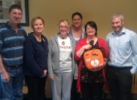 Staff From Electronic Concepts Galway Receiving Their New AED and Training